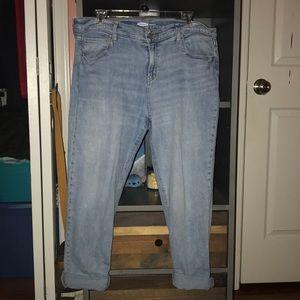 women's boyfriend jeans sz 14
